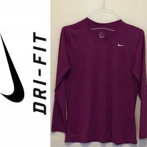 Nike Purple Dri-fit L